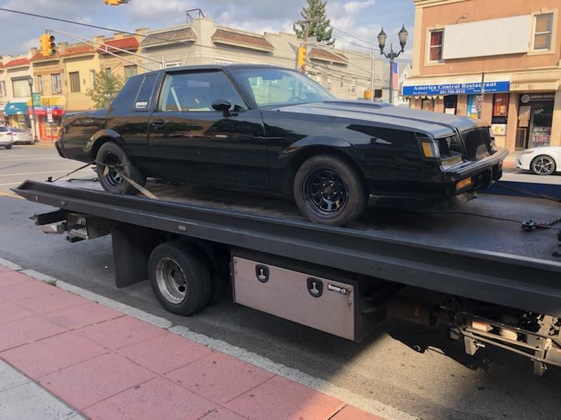 flatbed tow truck in Newark New Jersey